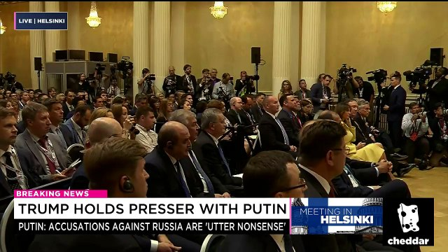 Putin Admits He Wanted President Trump to Win 2016 Election