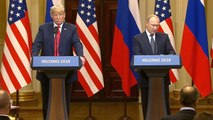 President Trump and President Putin address media following historic summit