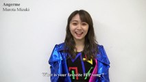 Hello! Project booth - Angerme comments (Japan Expo Paris 2018)