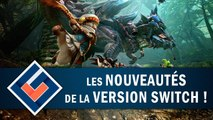 MONSTER HUNTER GENERATIONS ULTIMATE : Quelles nouveautés sur Switch ? | GAMEPLAY FR