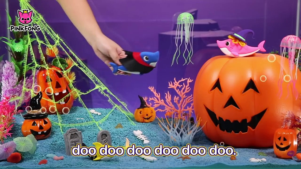 Clay Halloween Sharks Halloween Songs Baby Shark Pinkfong Songs For Children Video Dailymotion