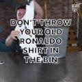 Comment recycler le maillot de Cristiano Ronaldo