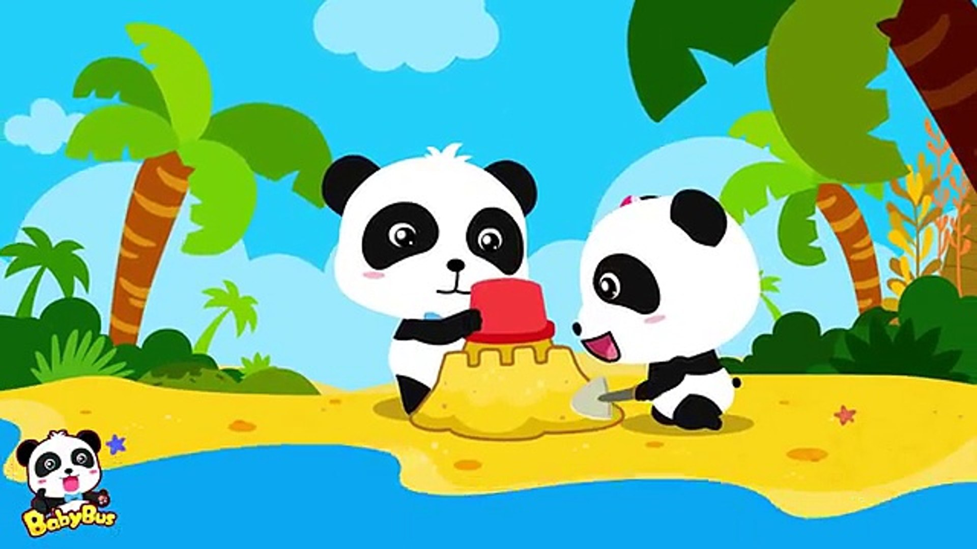Crocodile River Surprise Crocodile Have A Baby Kids Funny Cartoon Videos Baby Panda Babybus Video Dailymotion