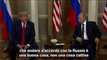 Trump: andare d'accordo con Russia è una buona cosa, non cattiva
