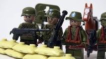 Lego WW2 Chinese German Army Soldiers Brickarms Toy Guns Review Великая отечественная войн