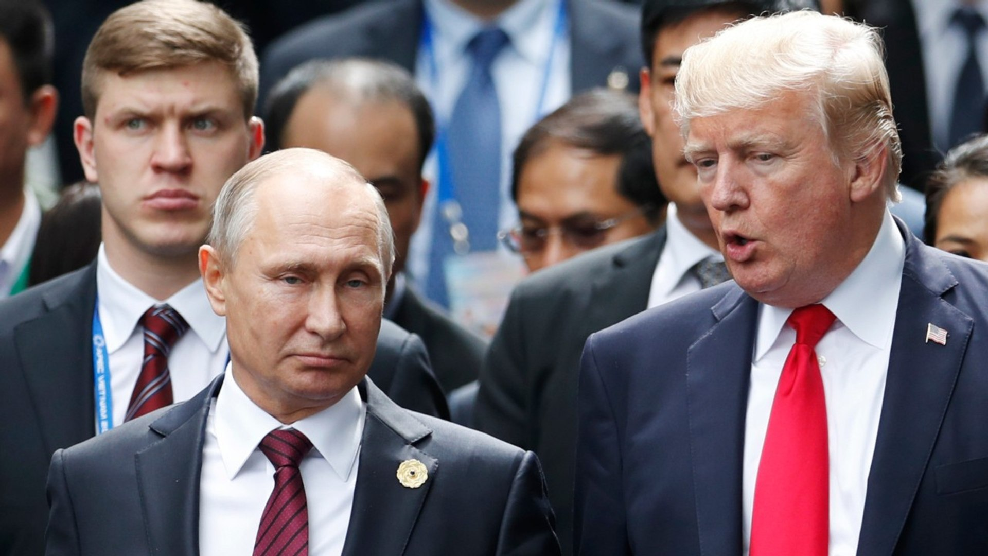 Donald Trump Meets With Vladimir Putin And Says It Is A 'Good Start'