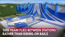 Flying Train Unveiled That Soars Between Stations At 400mph