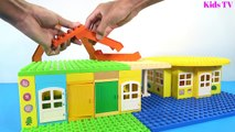 Peppa Pig Building Blocks House Lego Toys For Kids Lego Duplo House Creations Toys