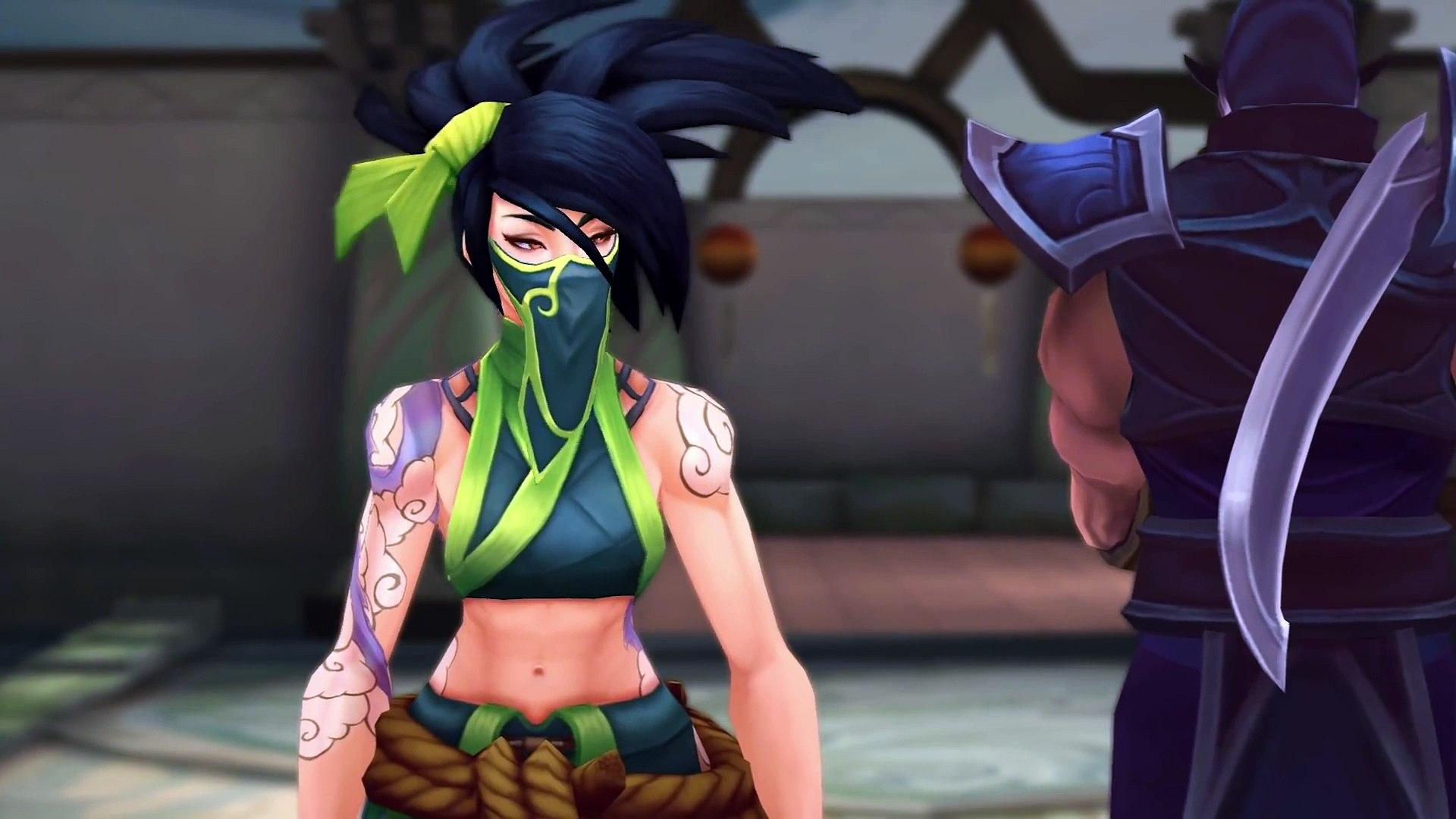 League of Legends - Akali: Rogue Assassin Champion Trailer