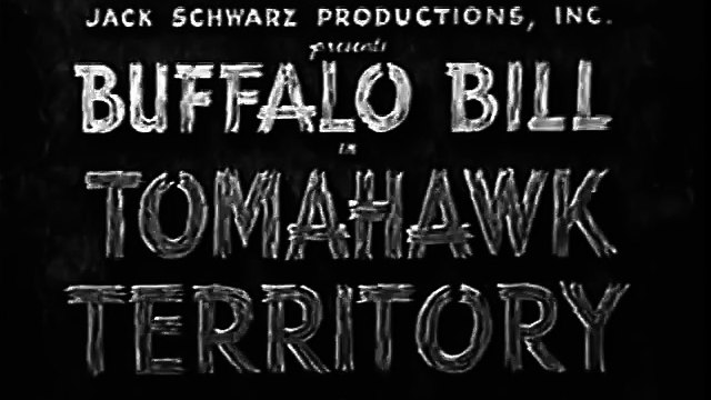 Buffalo Bill in Tomahawk Territory (1952) CLAYTON MOORE part 1/2 part 1/2