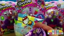 Shopkins Limited Edition Marsha Mellow Season 2 Giant Play Doh Surprise Egg