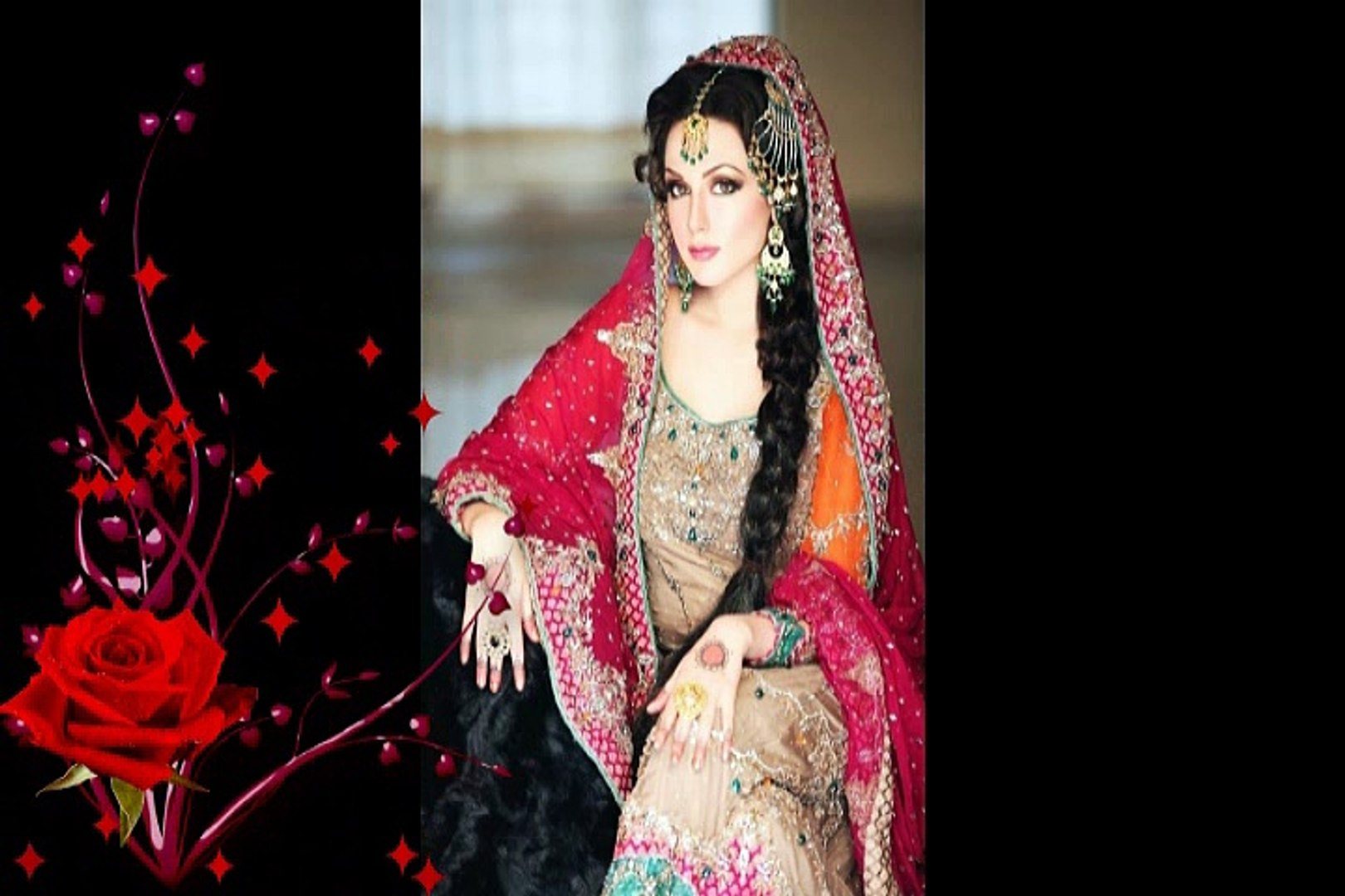 Most Beautiful Indian Wedding Bridal Hairstyles, Indian Wedding Hairstyles For Beautiful Women #1