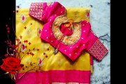 Indian Wedding Blouse Design Ideas For Silk Saree Images Photos Pictures Wallpapers Collection, Designer Wedding Blouse Ideas
