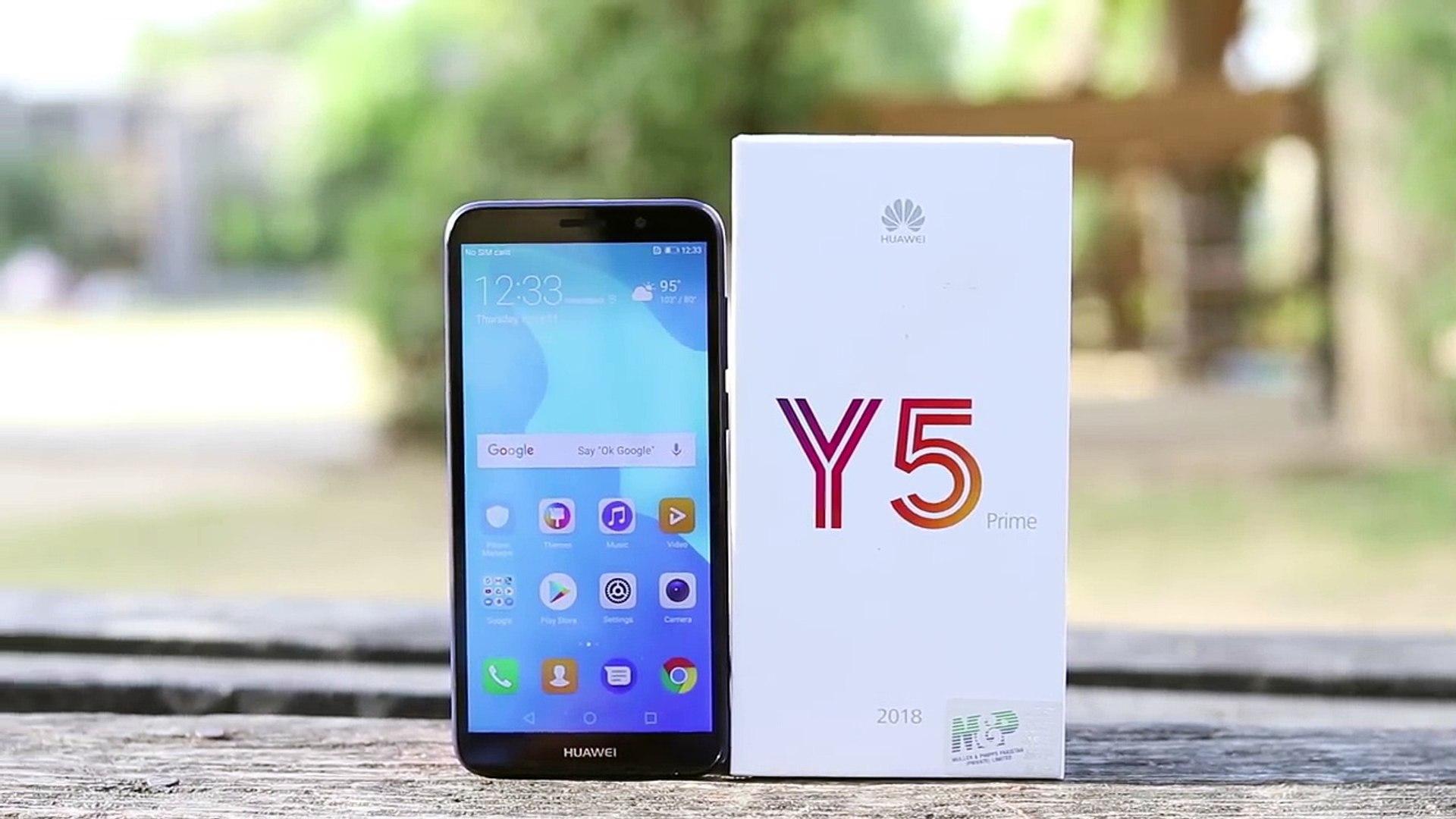 Huawei Y5 Prime 2018 Unboxing & Full Review In Urdu /Hindi
