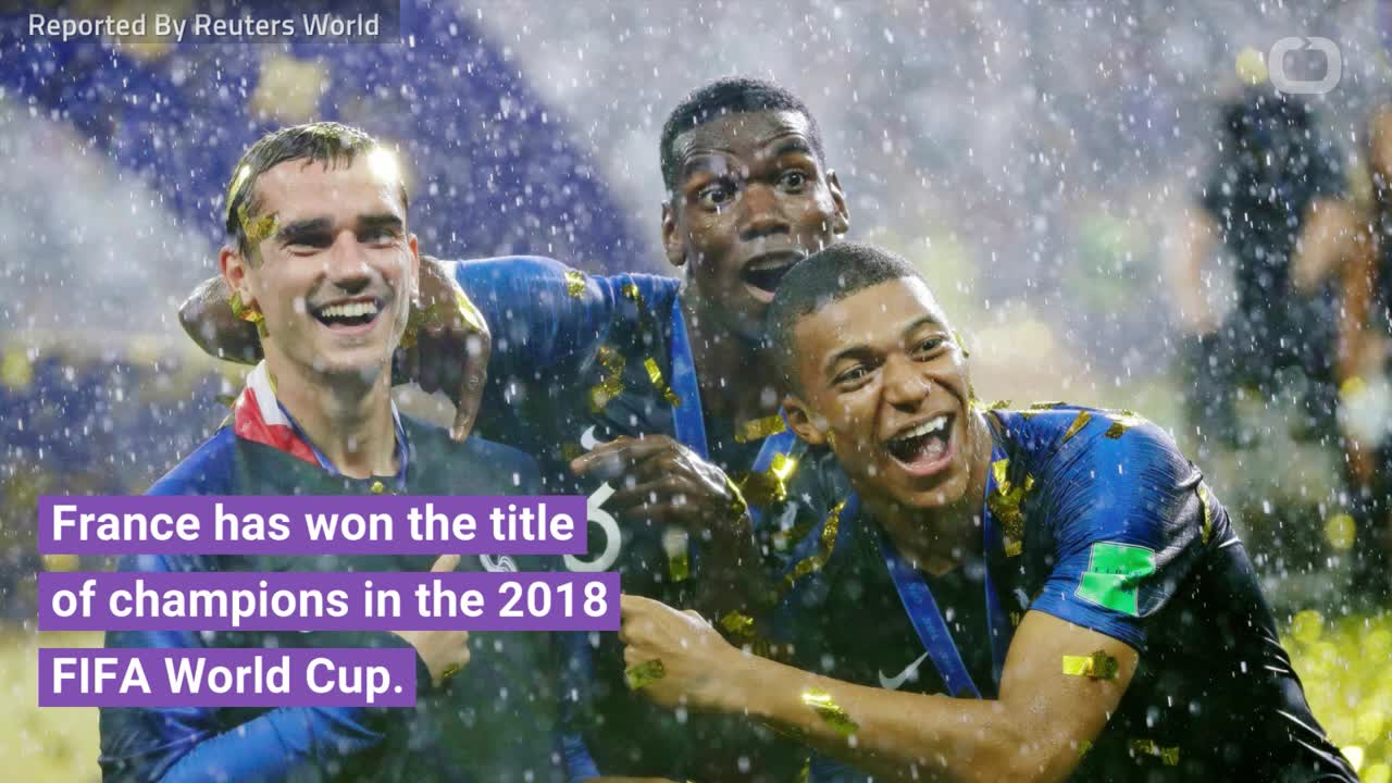 France Wins Its Second World Cup
