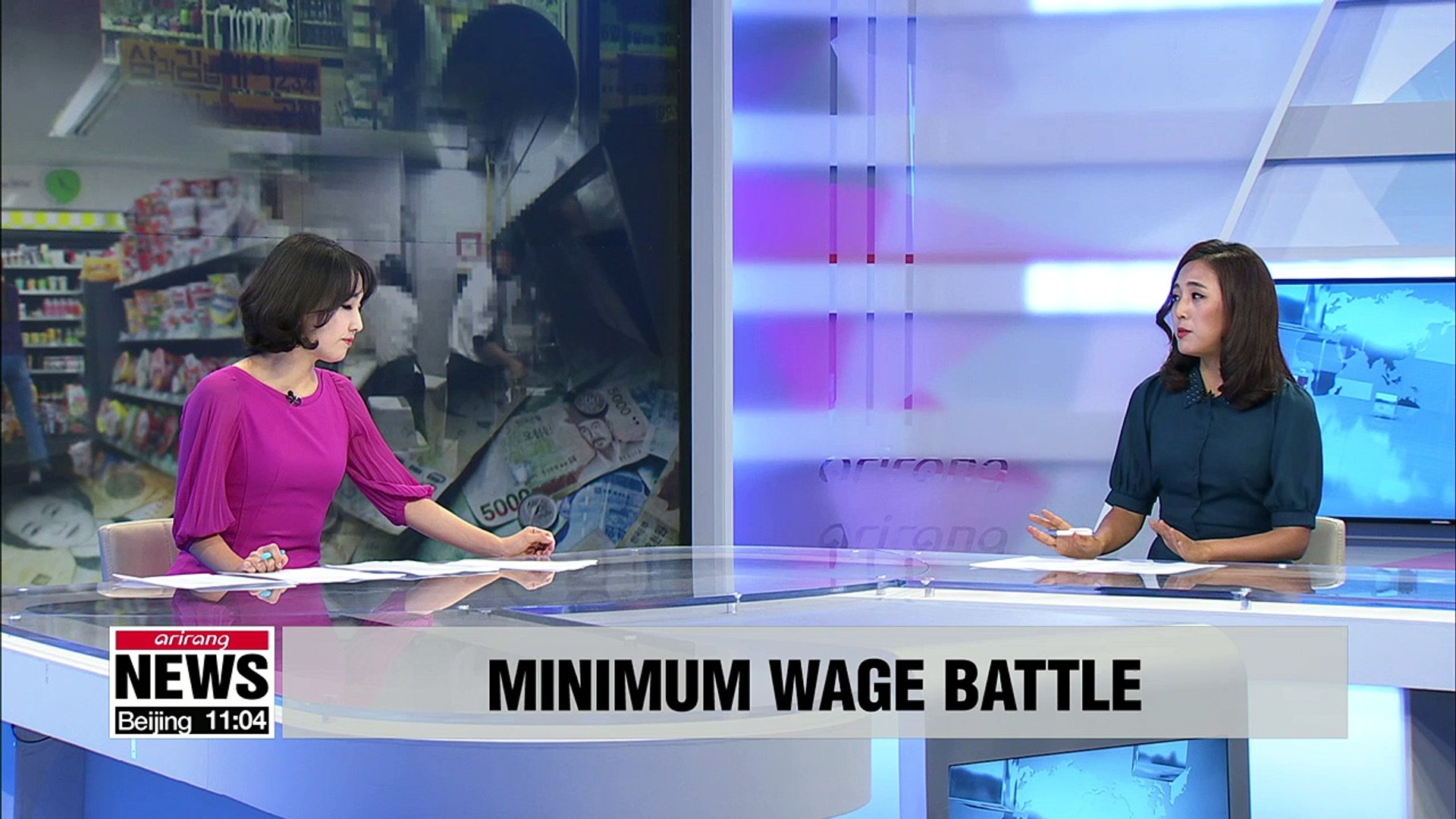 Part-time workers, small business owners concerned about rapid minimum wage hike pt1