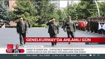 Milli Savunma Bakanı Hulusi Akar, son defa üniforma giydi