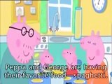 Learning english with Peppa Pig Cartoon The Tooth Fairy with subtitle