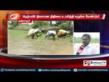 Tanjore : Crops relief compensation should be increased says farmers