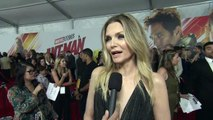 Ant-Man and the Wasp – Michelle Pfeiffer World Premiere Interview - Marvel Studios – Walt Disney Studios – Motion Pictures – Director Peyton Reed