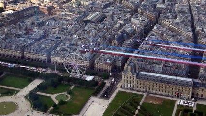 La Patrouille de France avait prévu un passage sur les Champs en cas de victoire des Bleus