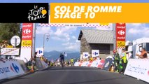 Col de Romme - Étape 10 / Stage 10 - Tour de France 2018