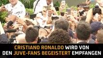 Turin steht Kopf! Cristiano Ronaldos erste Schritte bei Juventus   SPORT1