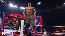 John-Cena-and-AJ-Lee-kiss-after-Cenas-victory-over-Dolph-Ziggler-Raw-Nov-26-2012 WWE Wrestling
