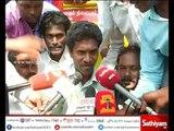 Protesters Protest Against Rajini - Rajini Fans Protest Against Them