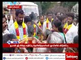 Villagers welcomed Kathiramangalam protesters with garlands who were arrested and released on bail