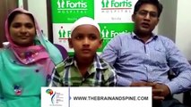 Brain Tumor Treatment Patient Experience in Ghaziabad - Brain Tumor Surgery - Neurosurgeon in India