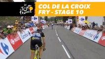 Col de la Croix Fry - Étape 10 / Stage 10 - Tour de France 2018