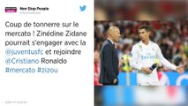 Mercato. Zinédine Zidane vers la Juventus Turin.