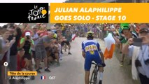 Julian Alaphilippe s'échappe / goes solo to the Col des Glières - Étape 10 / Stage 10 - Tour de France 2018