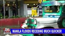 NEWS: Manila floods receding much quicker