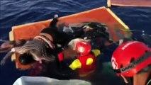 Corpi donna e bambino abbandonati su barca al largo della Libia