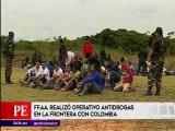El operativo antidrogas en la frontera con Colombia