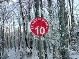 Ski Font d'Urle Piste rouge Le lièvre blanc