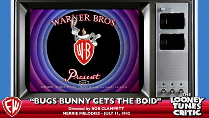 Bugs Bunny Gets the Boid | Looney Tunes Critic Commentary