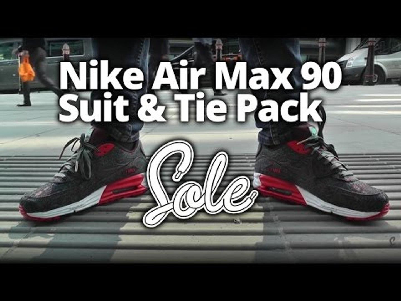 Nike Air Max Lunar 90 Suit & Tie Pack