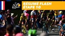 Résumé Flash - Étape 10 - Tour de France 2018