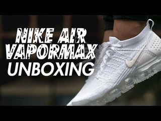 NIKE AIR VAPORMAX 2.0 TRIPLE WHITE UNBOXING   REVIEW & ON FOOT