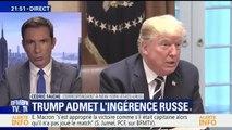 Donald Trump admet l'ingérence des Russes dans la présidentielle américaine de 2016