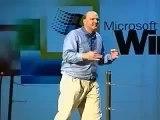 Steve Ballmer goes crazy on stage: developers developers developers