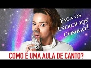 EXERCÍCIOS VOCAIS - FAÇA UMA AULA DE CANTO COMIGO! / Por Kassyano Lopez