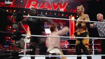 RAW - John Cena & Sheamus vs. Christian & Mark Henry - WWE Wrestling Fight Fighting Match Sports