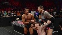 Roman Reigns vs. Sheamus - WWE World Heavyweight Championship Match - Raw, November 30, 2015 - WWE Wrestling Fight Fighting Match Sports