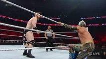 The Lucha Dragons vs. Sheamus & King Barrett - Raw, November 2, 2015 - WWE Wrestling Fight Fighting Match Sports