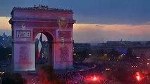 WATCH: Paris celebrates as the Arc de Triomphe is lit in French colours after Les Bleus' FIFA World Cup win.(Video: APTN/SNTV)