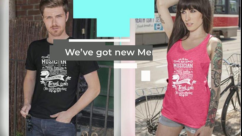 Musician T-Shirts – Music Wolf – T-Shirts For Musician | Fashionable T-Shirt